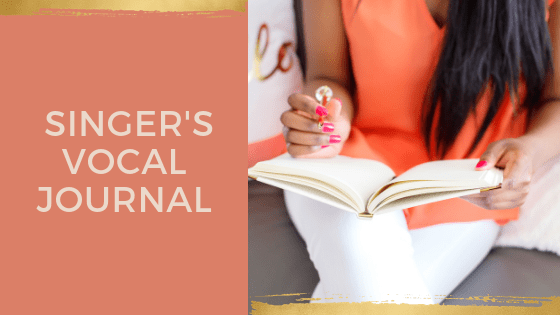 Singer's Vocal Journal