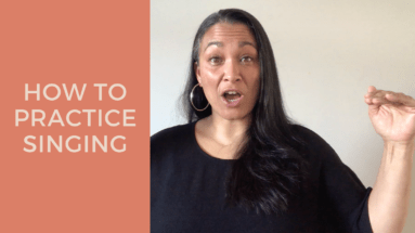 How To Practice Singing