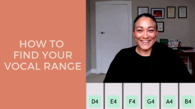 How To Find Your Vocal Range