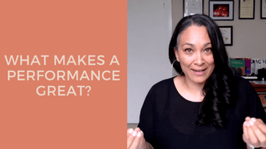 What Makes A Performance Great?