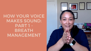 How your voice makes sound - Breath management