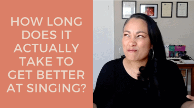 How Long Does It ACTUALLY Take To Get Better At Singing?