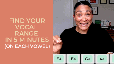 Find Your Vocal Range In 5 Minutes (On Each Vowel)
