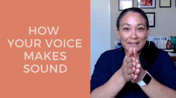 How Your Voice Makes Sound Blog Post